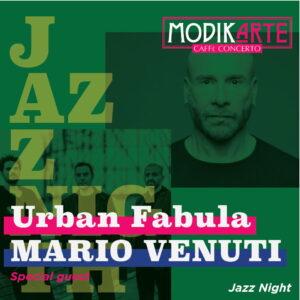 Urban Fabula & Mario Venuti - Ore 20:30