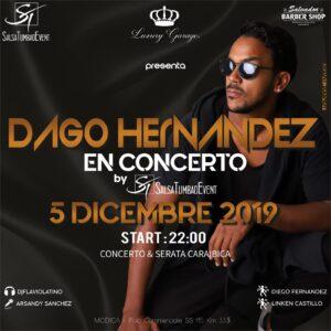 DAGO Hernandez in concerto
